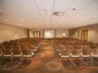 The conference room at the Holiday Inn, Winchester